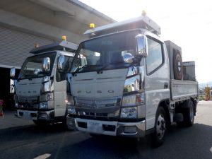 道路カッター_カッター専用トラック