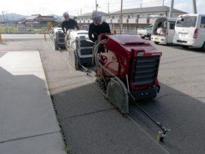 道路カッター_ステップ切断工法